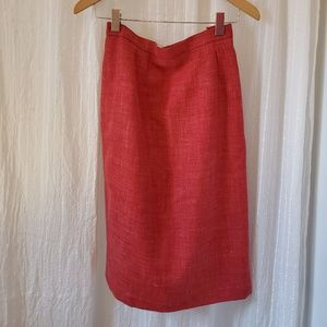 Vintage french pencil skirt